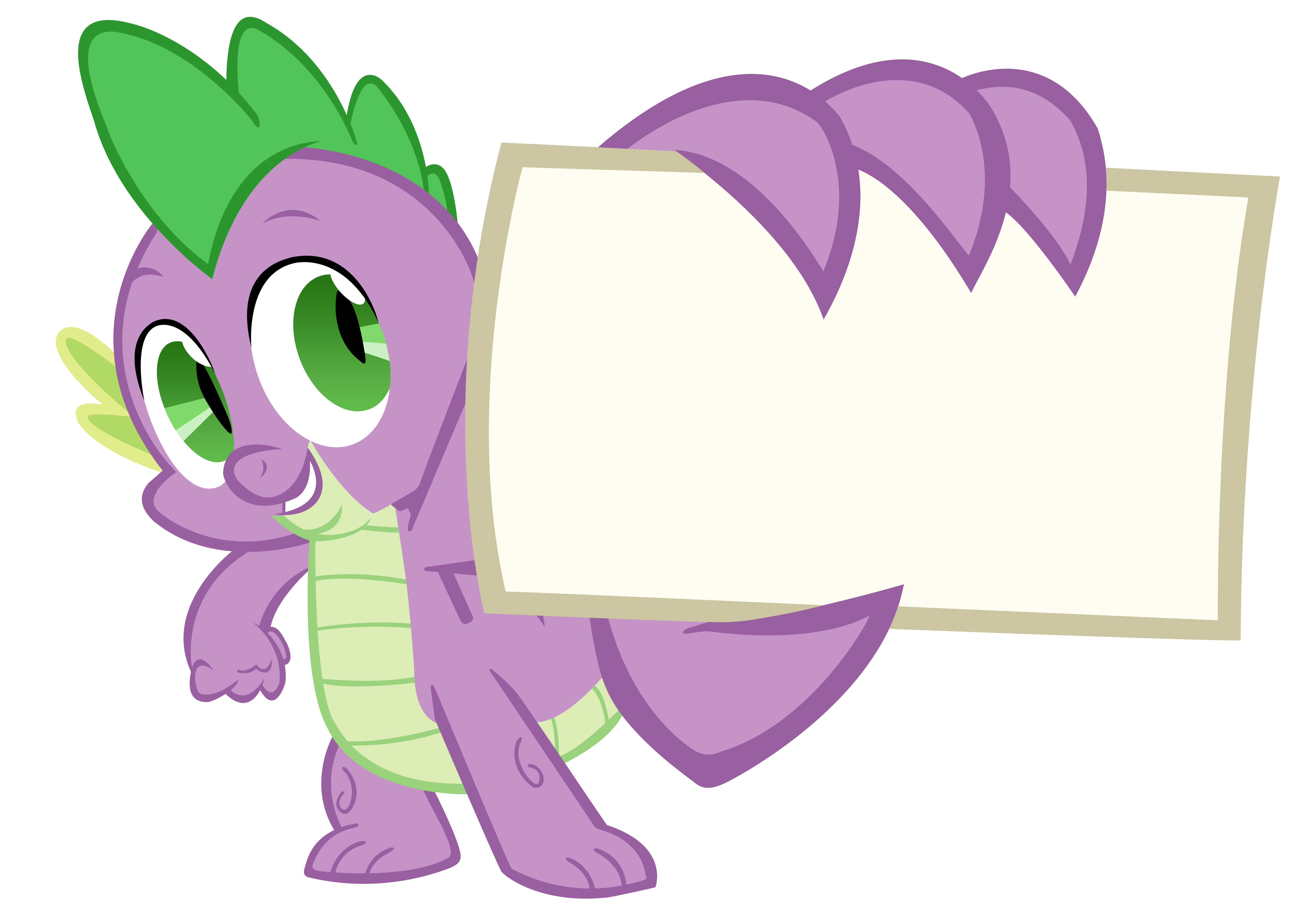 Spike Vector by TardisBrony