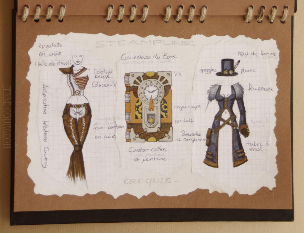 Steampunk Fashion Book 14 16 By Jesse Gourgeon On Deviantart