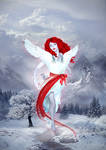 The angel of winter by Jesse-Gourgeon