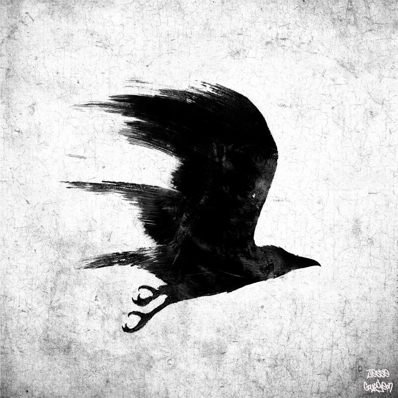 Crow Art And Craft