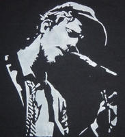 Tom Waits' Blues by stencilgraf