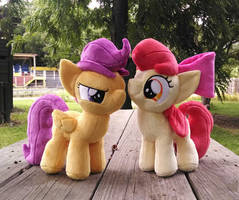 Birthday Fillies by Bakufoon