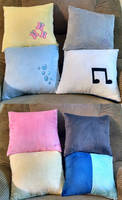 Cutie Mark Pillows by Bakufoon