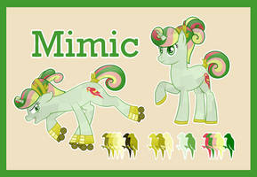 Mimic ref (G1 to G4) by Bakufoon