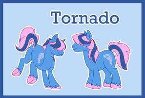 Tornado ref (G1 to G4) by Bakufoon