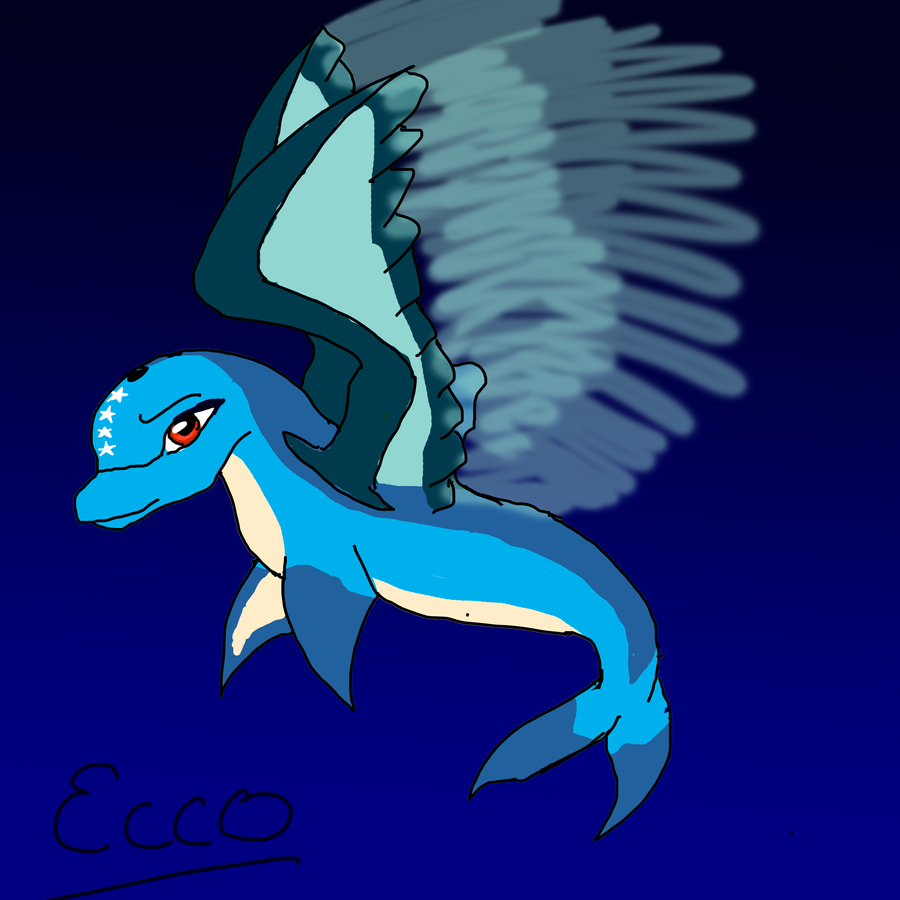 ecco the dolphin by nachturia on deviantart. Black Bedroom Furniture Sets. Home Design Ideas