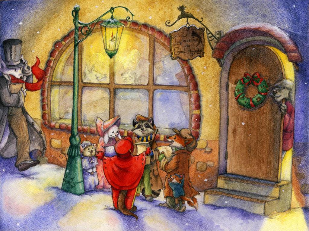 A christmas carrol by SophieLeta