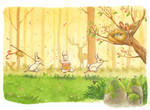 Easter Forest