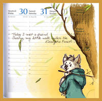 Page of Time - Eucalyptus Walk