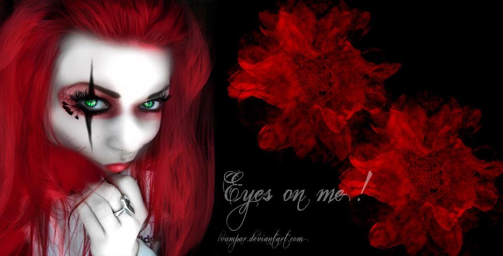 Eyes on me wallpaper by lvampar on deviantart