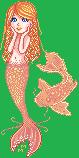 Red Mermaid by Alswyn