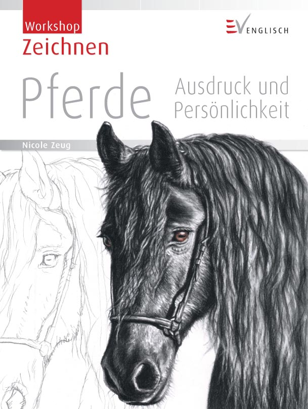 Cover Book Horse Drawing by ArtsandDogs