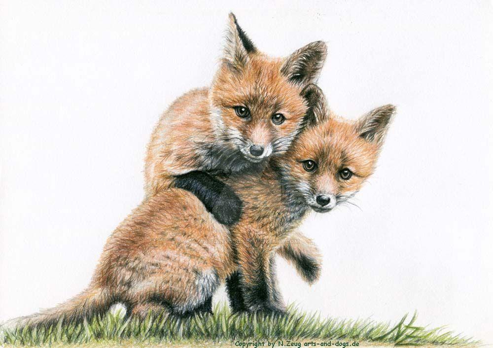 Fox Kids - Fuchskinder by ArtsandDogs
