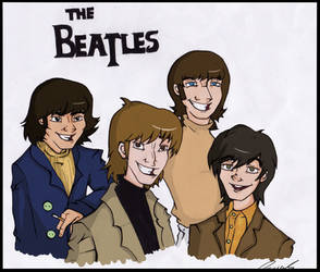 Teh Beatles by Moony-sama