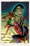 Unused Spiderman Family cover
