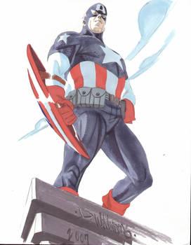 SDCC2007 Captain America LIVES