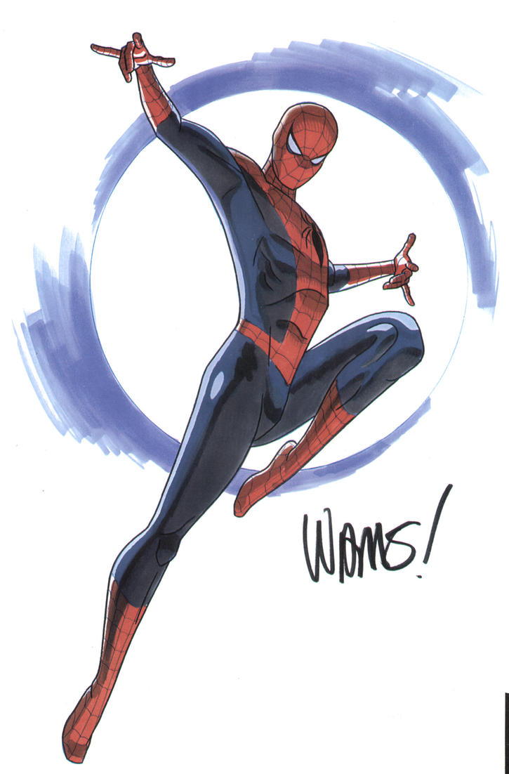 Spider - man by BroHawk