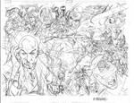 X-Men First class double page