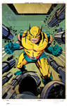 Kirby style Wolvie color
