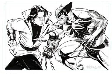 DC VS Marvel by BroHawk