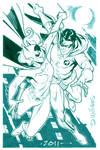 Batgirl and Robin 4ever