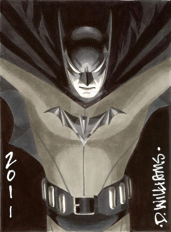 Bob Kane style Bats by BroHawk
