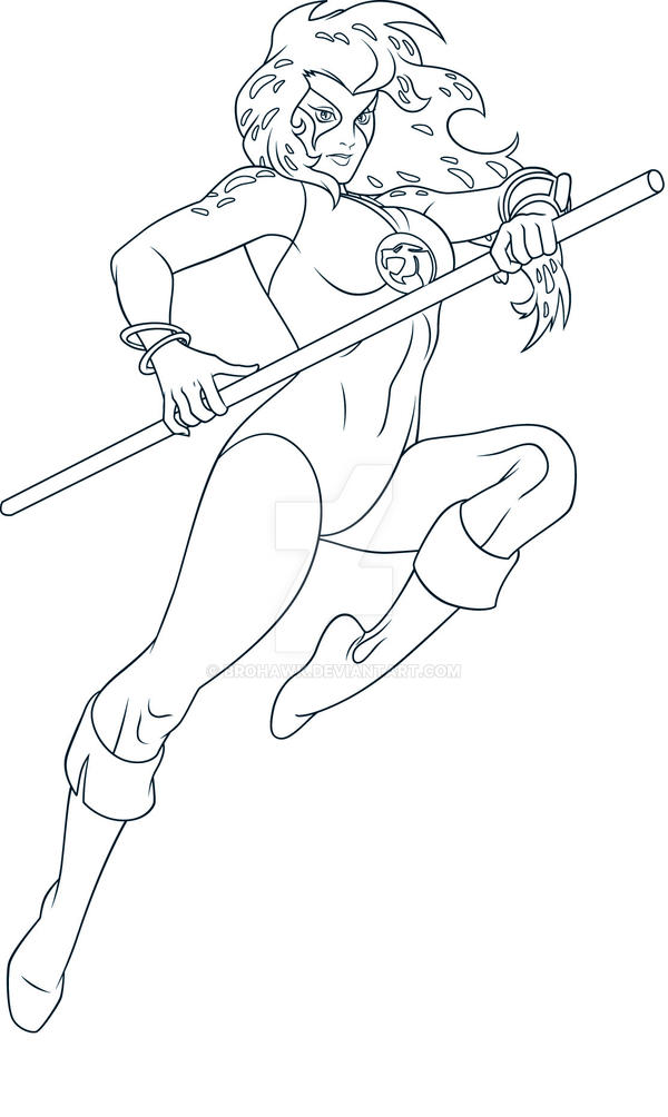 cheetara thundercats coloring pages - photo#8