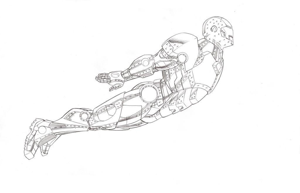 MCP Iron-man pencils by BroHawk