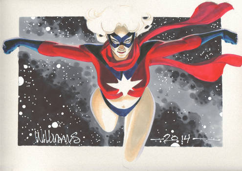 The only Ms Marvel I know