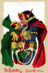 Scott and Barda going to Heroes 2014