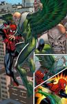 SPIDER-VERSE TEAM-UP page1 color