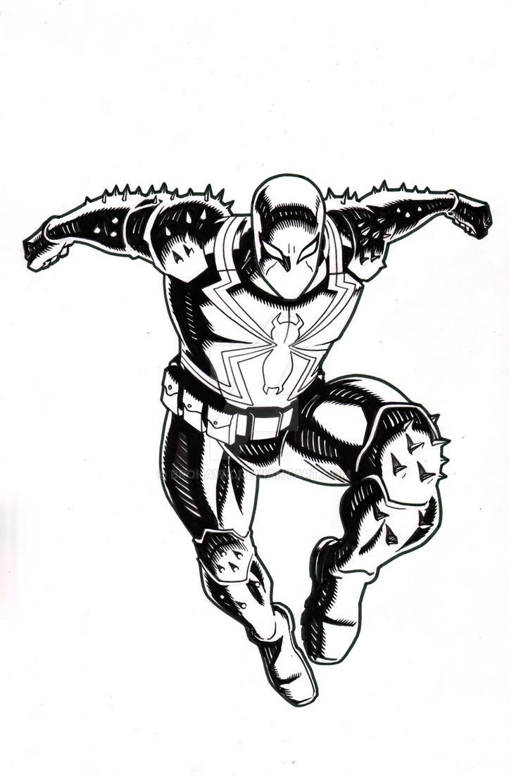 ultimate spider-man episode 8-venombrohawk on deviantart