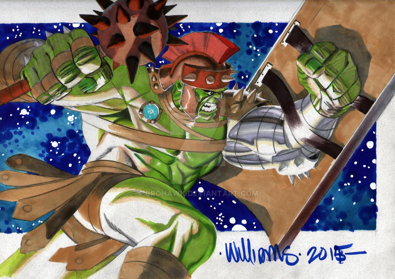 BigWow Comic fest WW Hulk