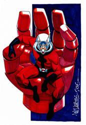 BigWow Ant-Man commission for Joshua by BroHawk