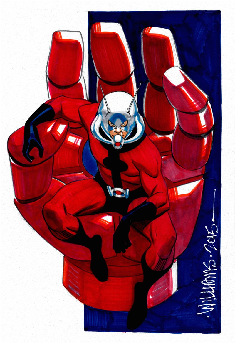 BigWow Ant-Man commission for Joshua by BroHawk