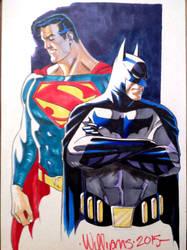 Worlds Finest or Batman V Superman? by BroHawk