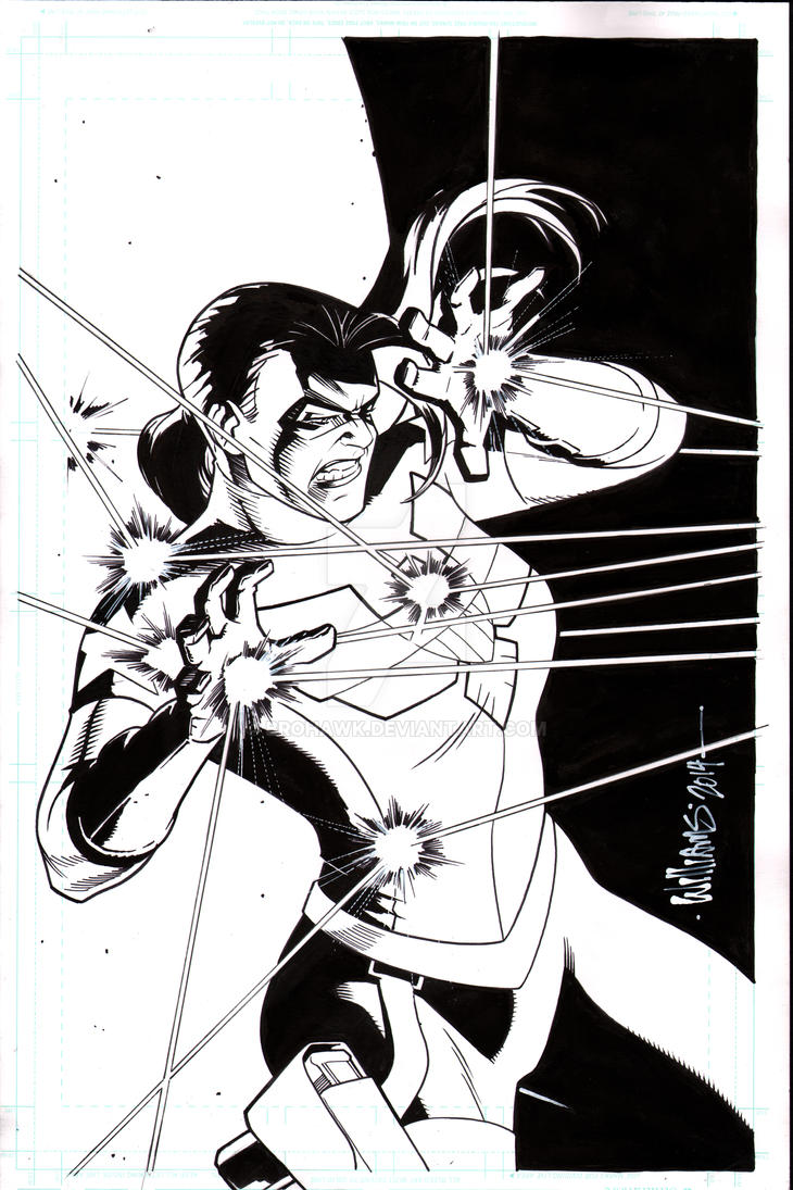 The Shield issue 4 cover final by BroHawk