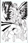 Dr.Fate and Hawkman commission