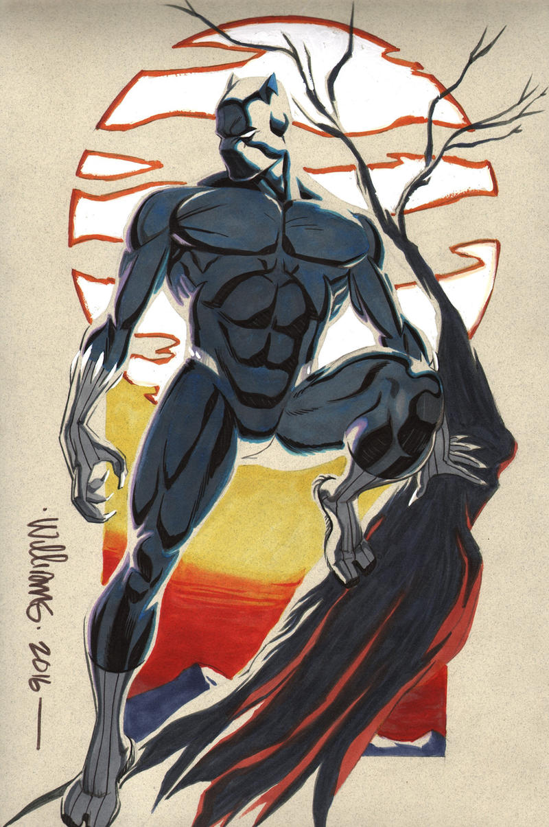 Black Panther Commission For Seth By Brohawk On Deviantart