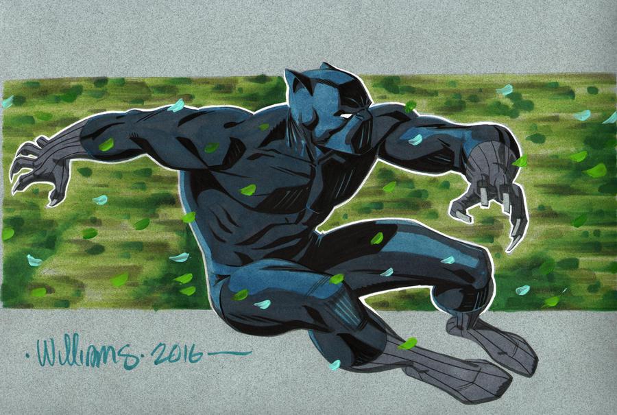 Black Panther By Portela On Deviantart: Black Panther For Shelton By BroHawk On DeviantArt