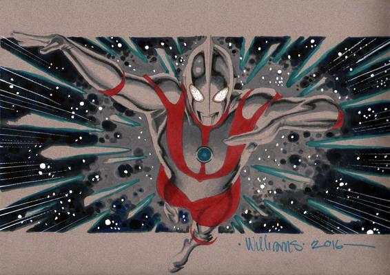 Ultraman commission for Little John