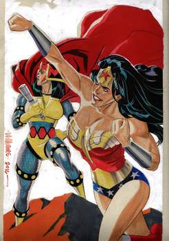 Big Barda  Wonder Woman commission for Jim