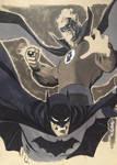 ABQ Batman and Green Lantern commission