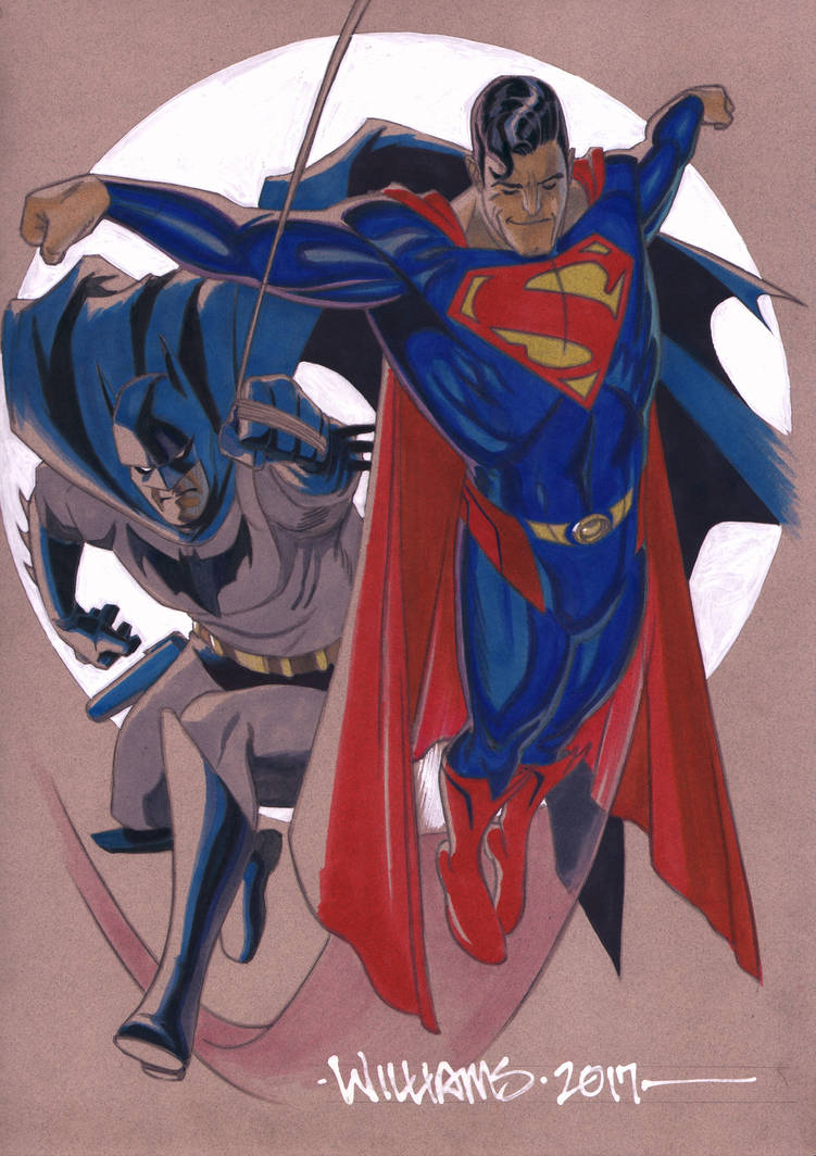 World's Finest commission by BroHawk