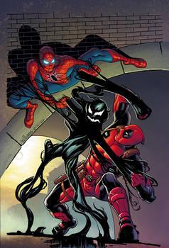 Spiderman Deadpool symbiote cover final