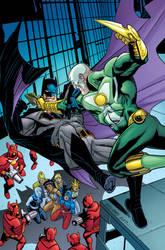 Justice League America cover #28 color