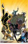 Justice League America cover #29 color