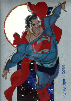 The Man of Steel SUPERMAN  commission