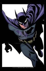 Batman exclusive print-WHITE