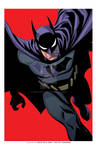 Batman exclusive print-RED